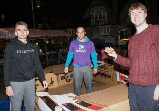Esendex at Frameworks Big Sleep Out