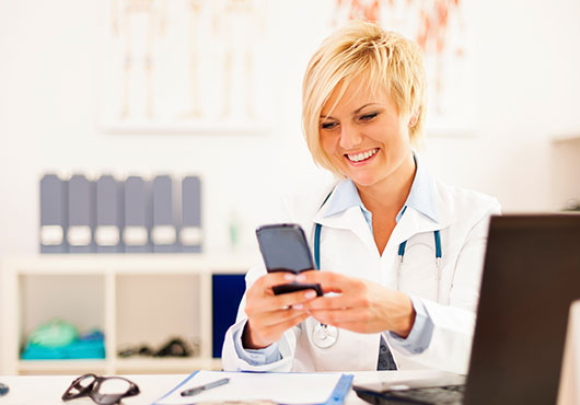 SMS in healthcare