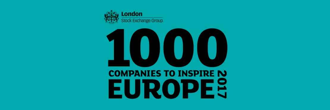 1000 companies to inspire Europe 2017