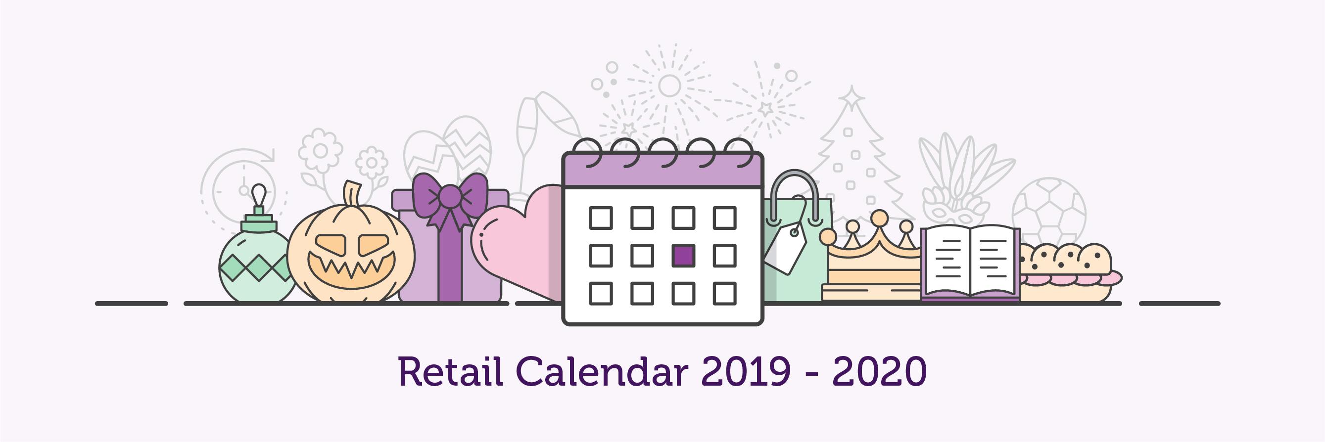 2019-20 retail calendar banner