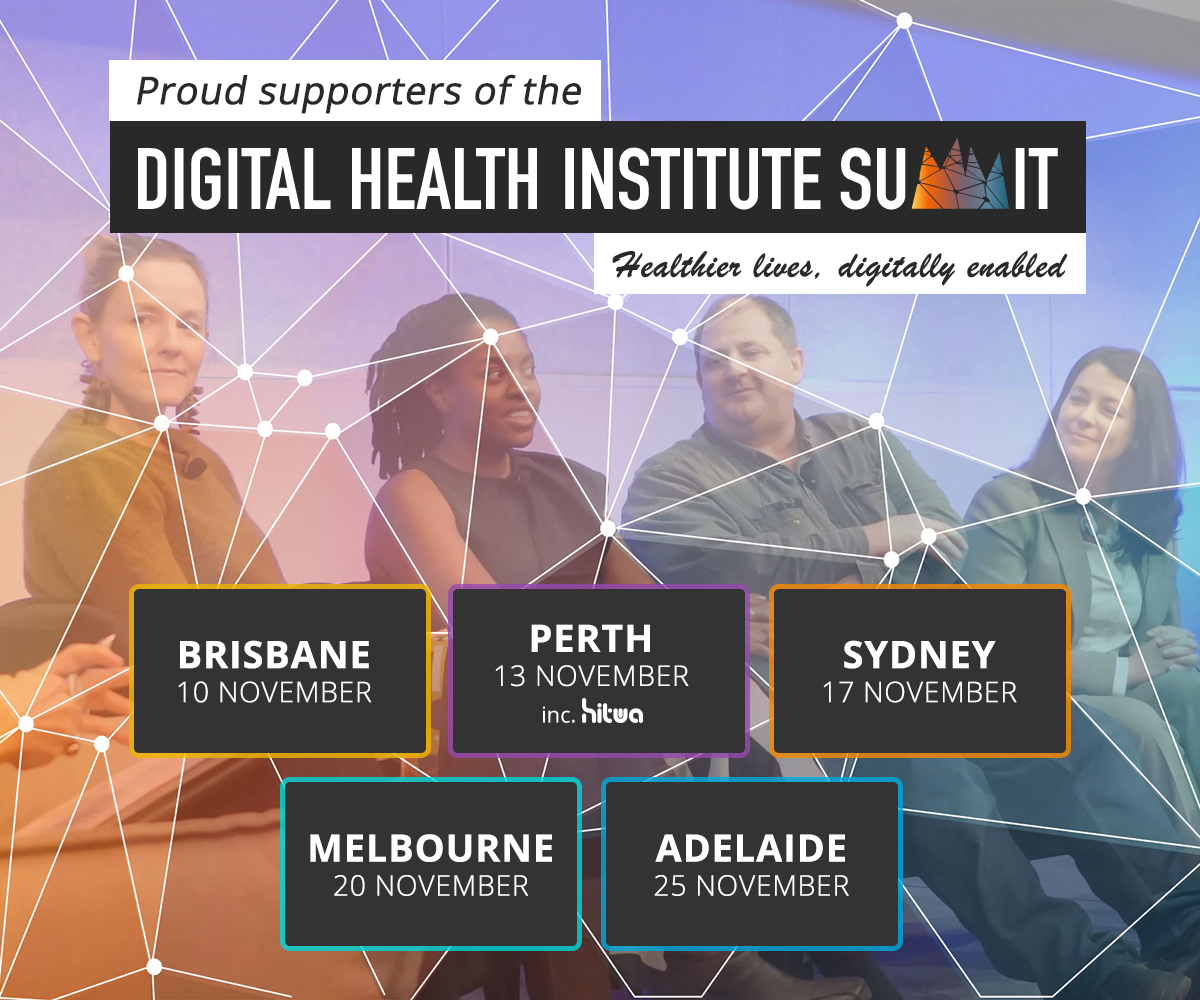 Proud supporter for DHIS digital health institute summit