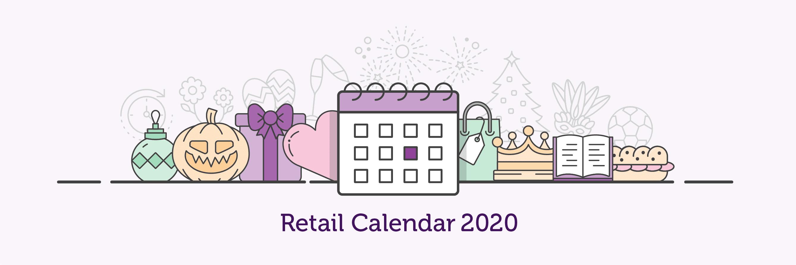 Retail Calendar 2020 banner image