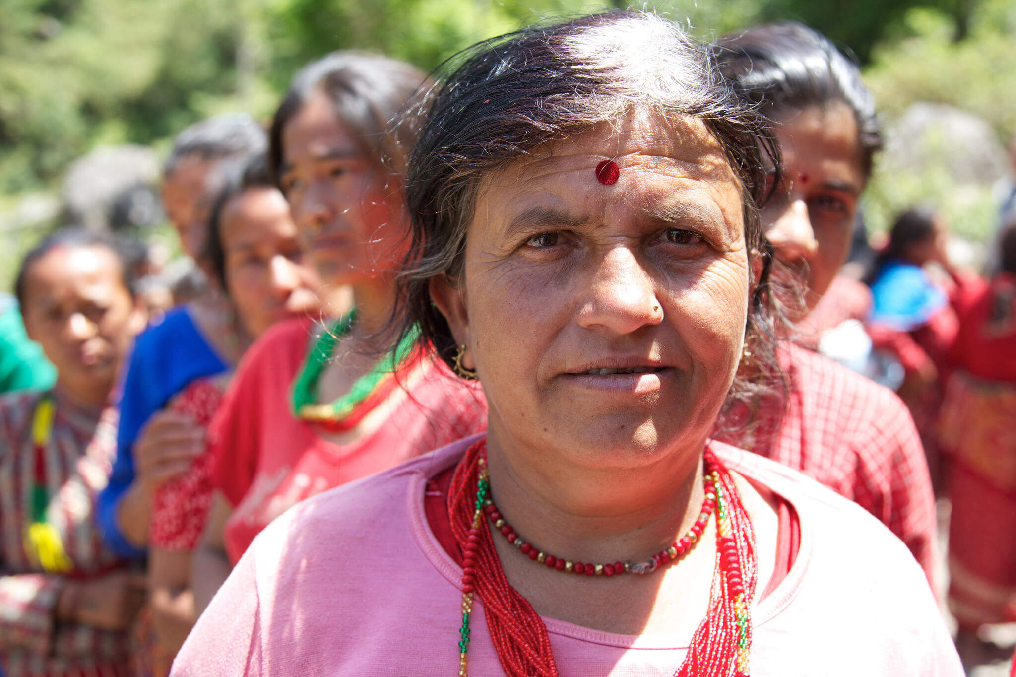 An old women from Nepal