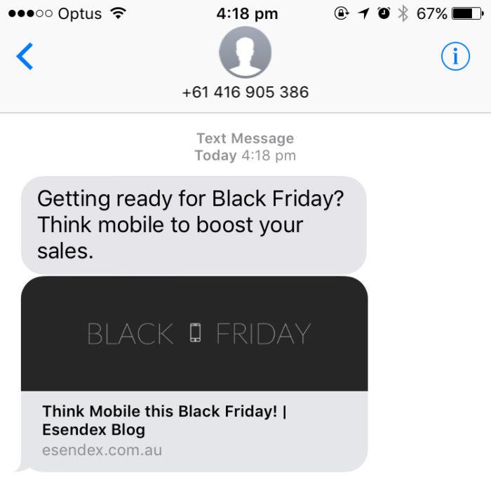 A serious hack for your next SMS marketing campaign