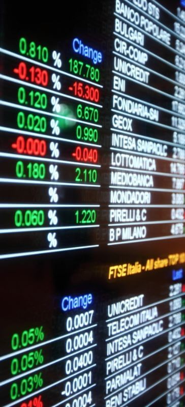 finance trading and stocks image