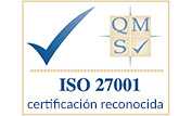 ISO 27001 certificaction reconócida