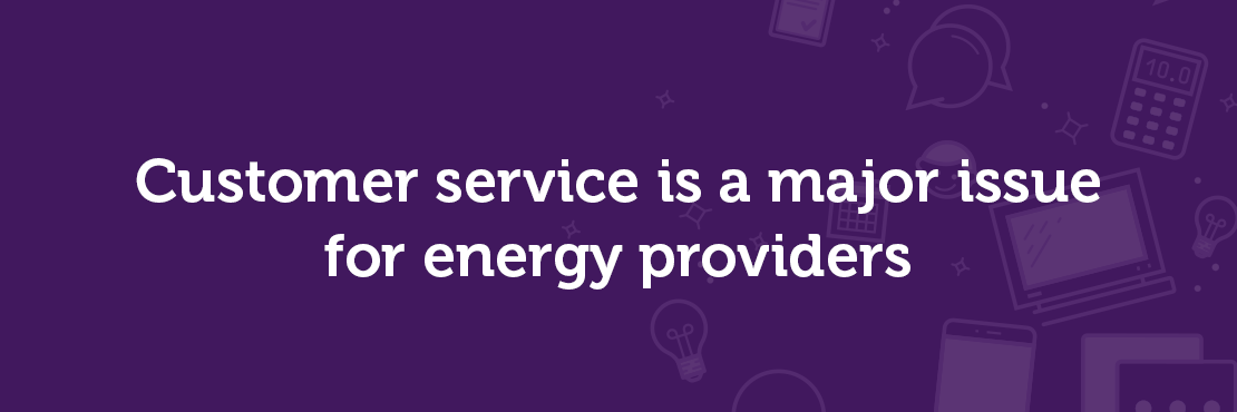 Customer service energy providers