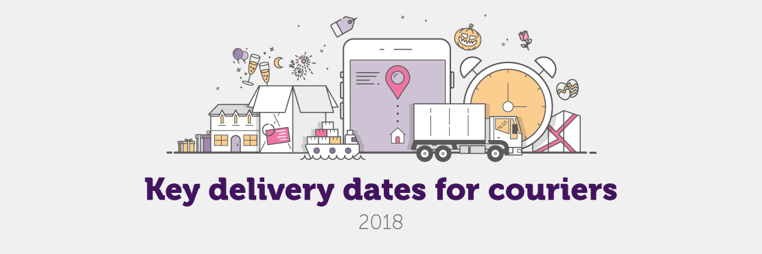 Logistics and courier calendar of key dates