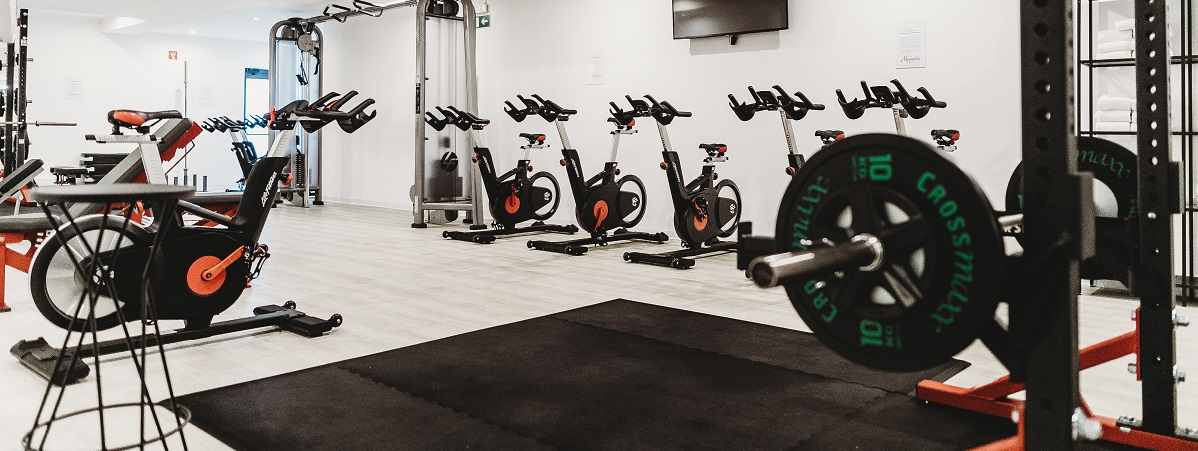 Photo of an empty gym