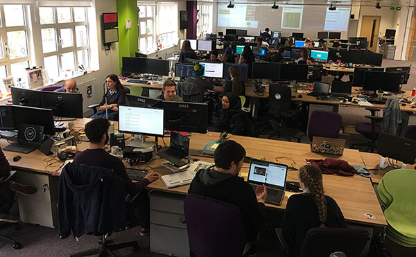 Nottingham Girls High School students paired programming with Esendex