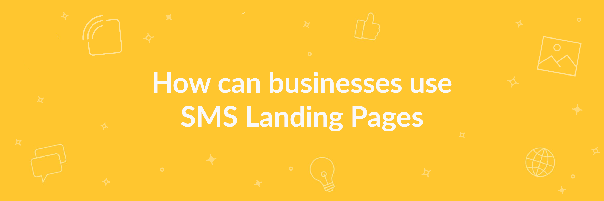 SMS Landing Page banner