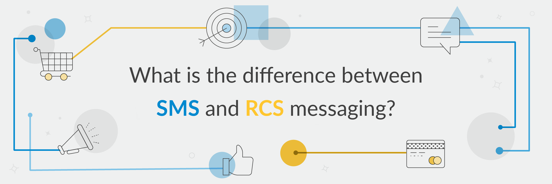 What is the difference between sms and rcs messaging header