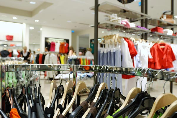 An image of a retailer's shop floor