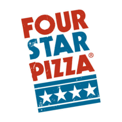 Logo four star pizza