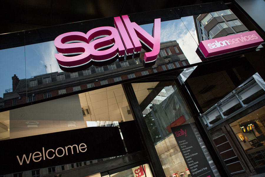 An image of Sally's store front