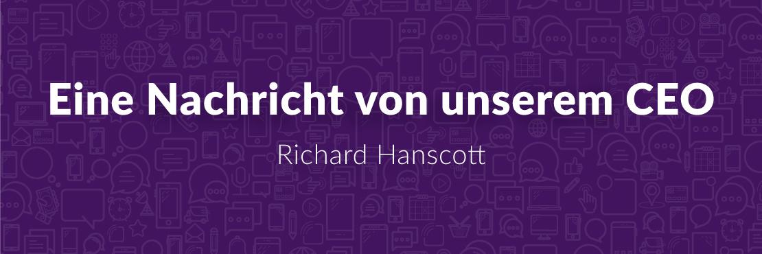 Esendex Blog Nachricht CEO Richard Hanscott