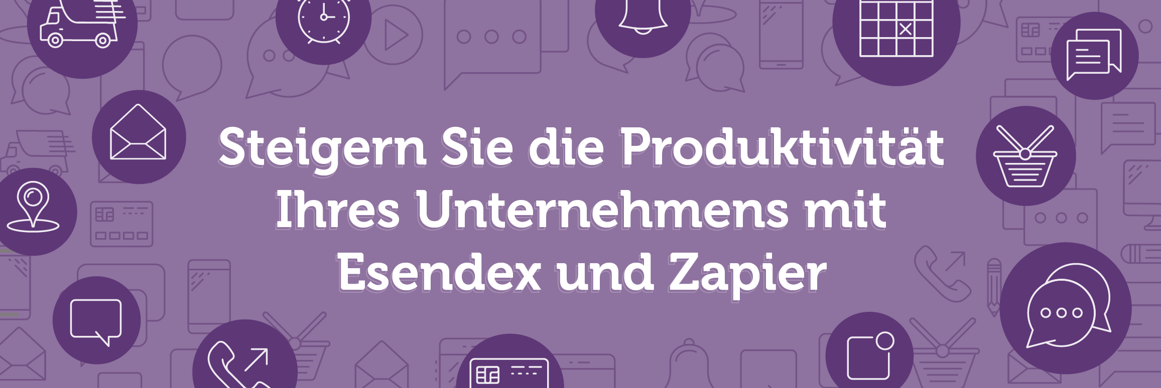 Zapier Integration mit Esendex