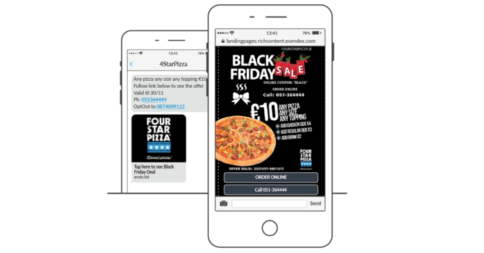 SMS Marketing am Black Friday