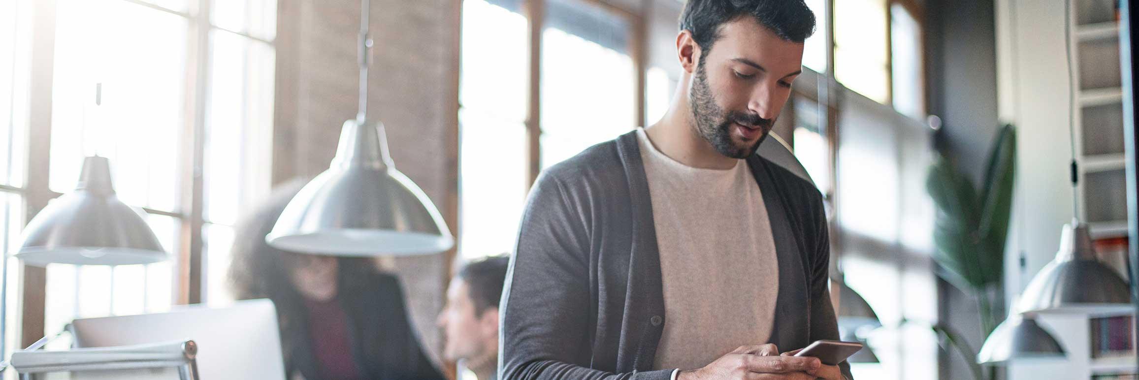 esendex personalvermittlung sms tipps handy mann