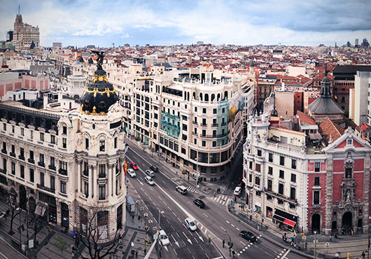 Image of the city of Madrid