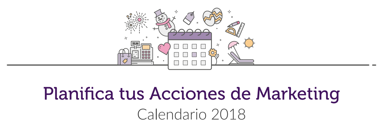 Calendario de Marketing Esendex 2018