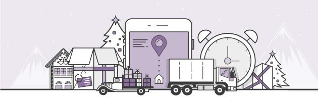 Envíos de los regalos de Navidad SMS