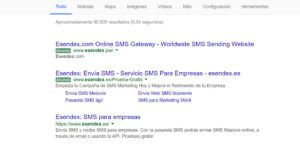 esendex-search-result-example-es