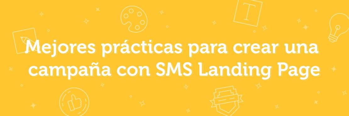 cómo sacar partido a las SMS landing pages
