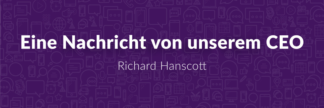 Esendex Blog Nachricht CEO Richard Hanscott