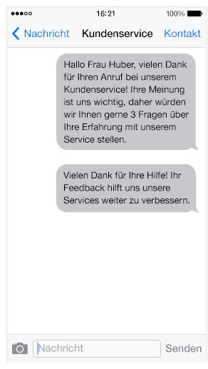 sms survey - Esendex