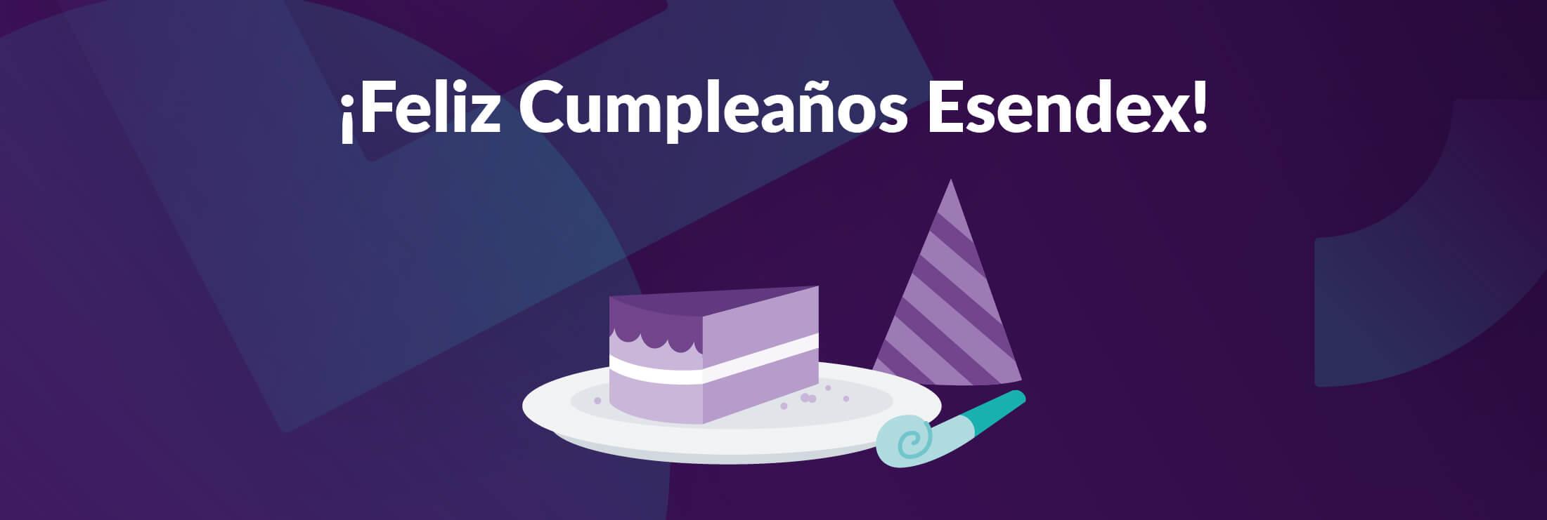 Feliz cumpleaños Esendex