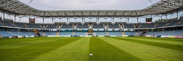football dans un stade