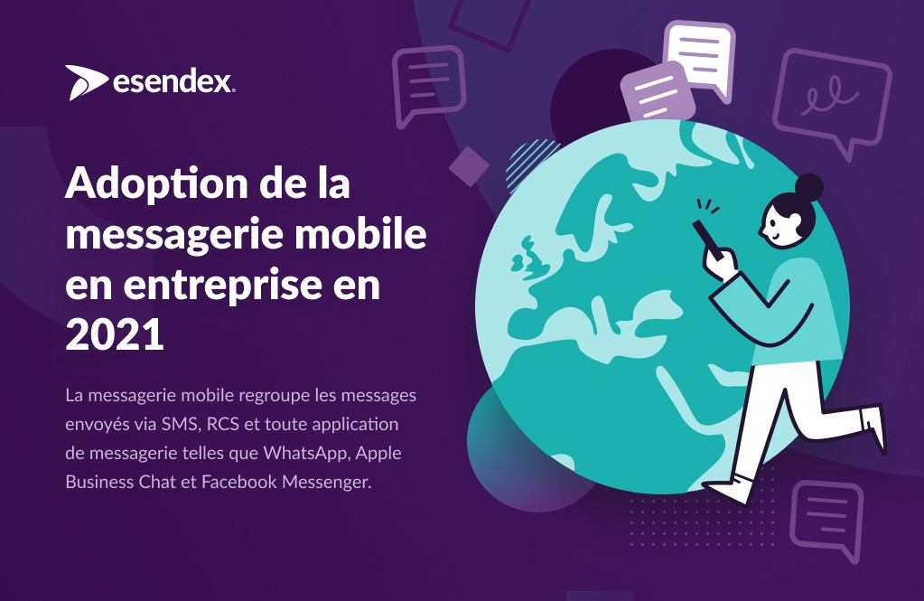 Adoption messagerie mobile France 2021