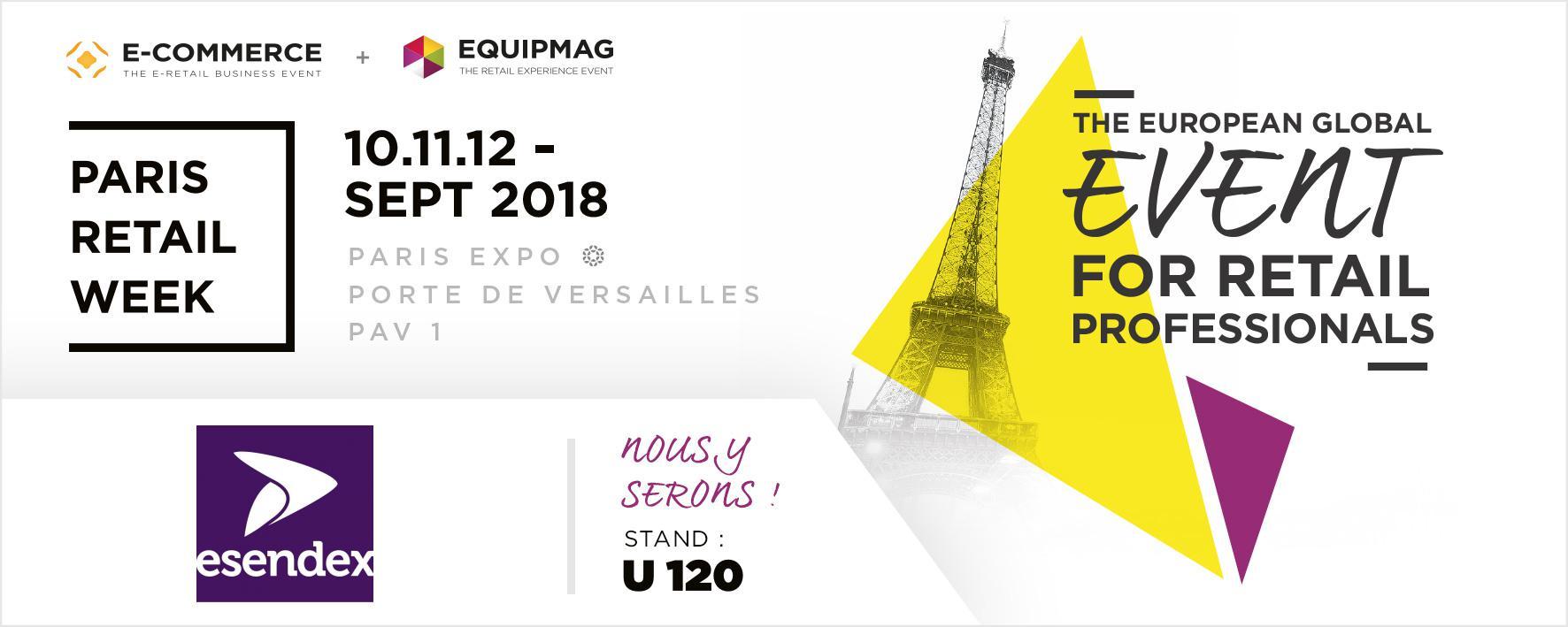 Paris Retail Week stand U120