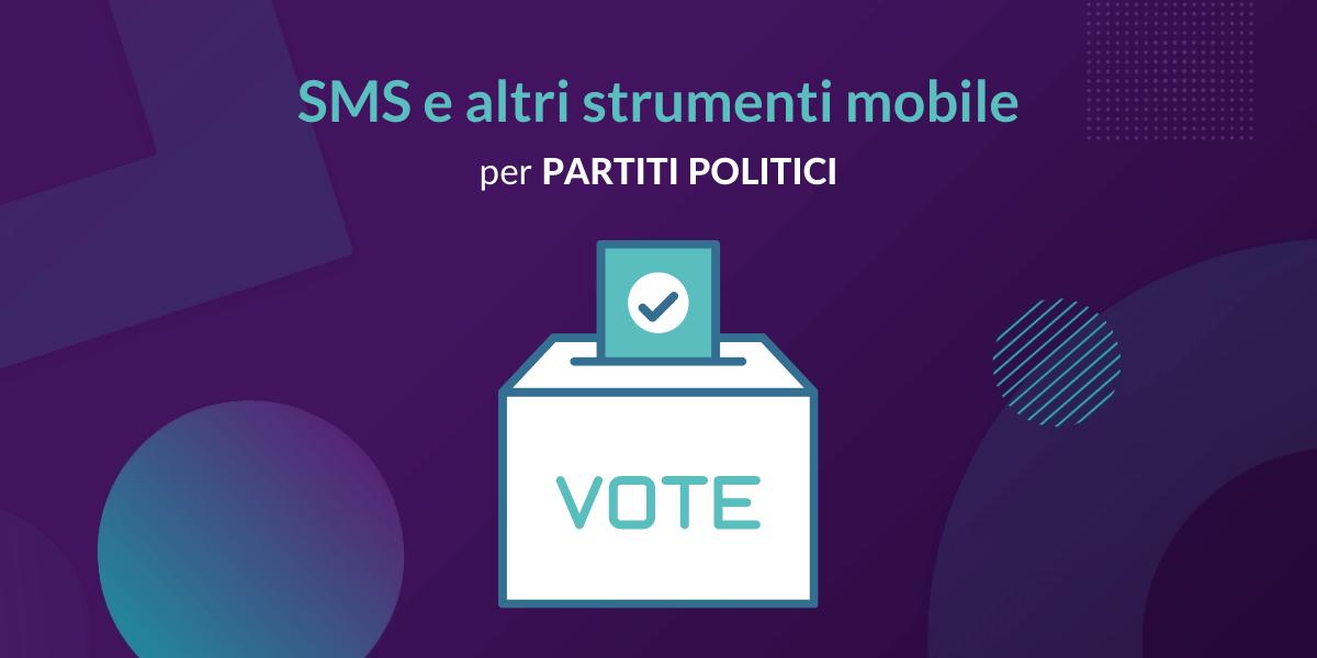 SMS per partiti politici