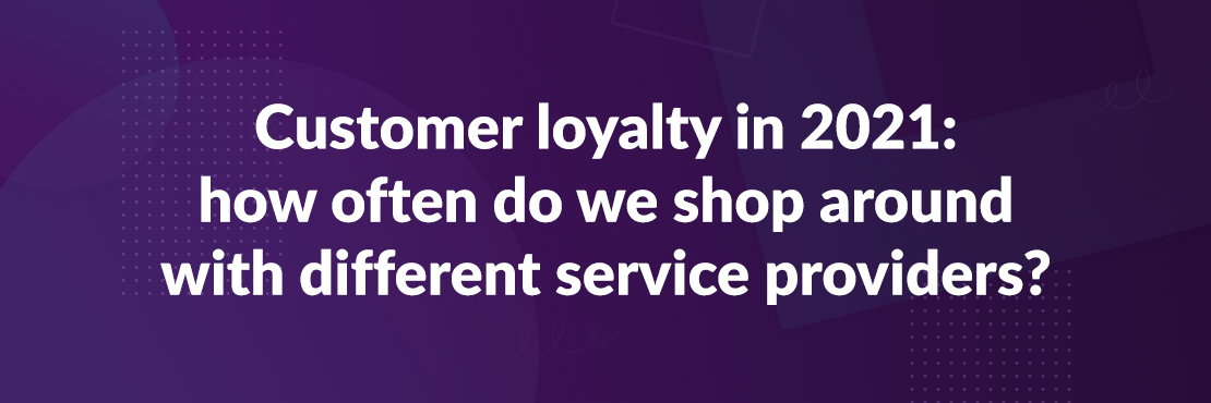 Customer loyalty banner