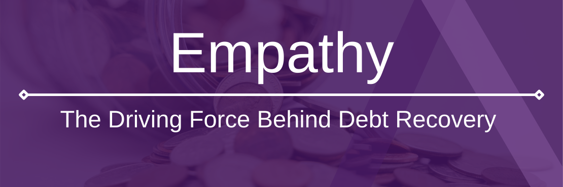 Empathy in debt recovery
