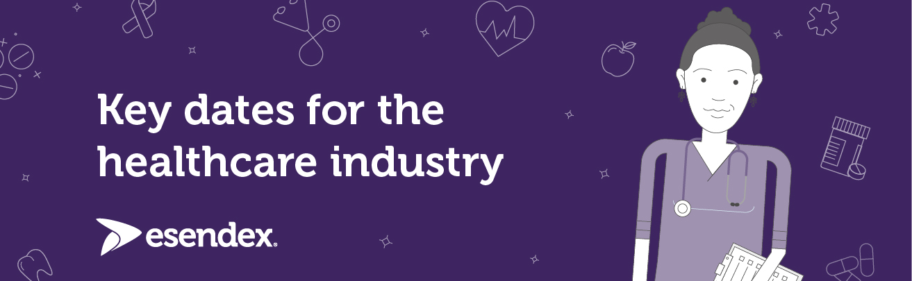 Key dates for the healthcare industry banner