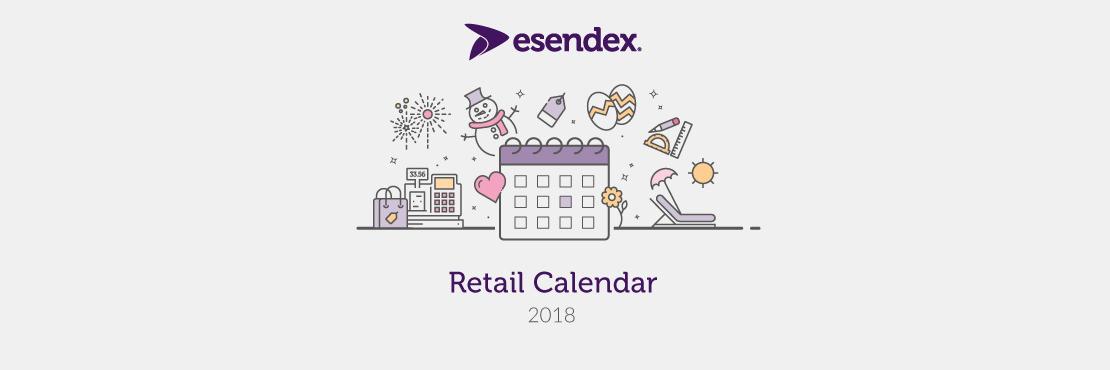 2018 retail calendar header