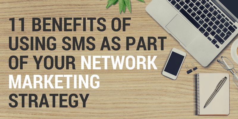 sms messages in network marketing