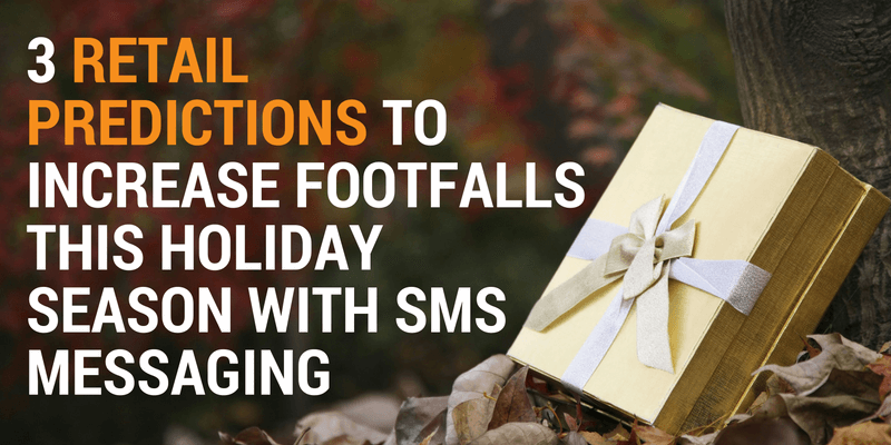 sms messaging helps retail footfall
