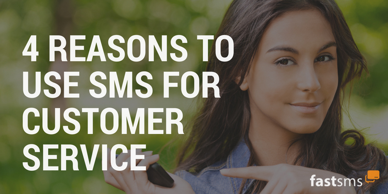 sms marketing for customer service businesses