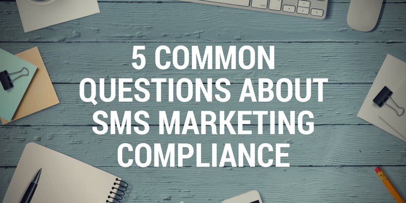 sms marketing compliance