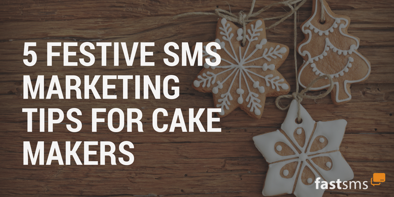 Christmas SMS Marketing for Cake Makers