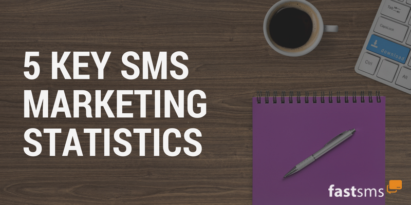 5 Key SMS Marketing Statistics