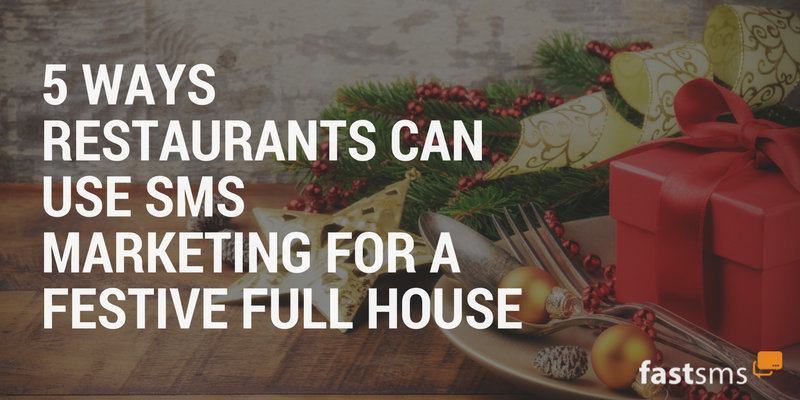 5 top SMS Marketing tips for Restaurants this Christmas