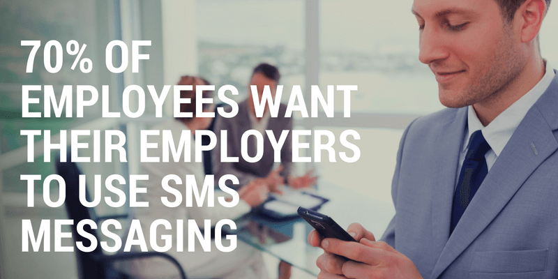 sms messaging for employers