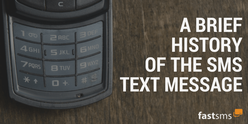 History of the SMS Text Message