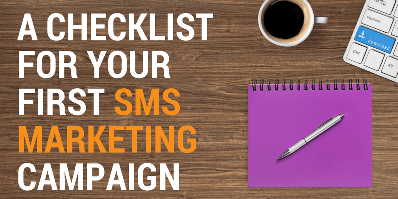 sms marketing checklist