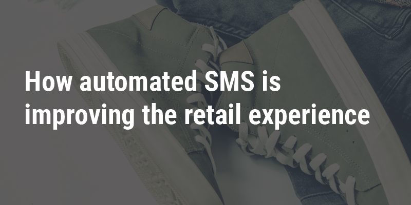 Automated SMS retail